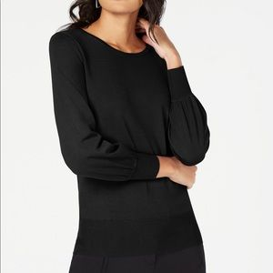 Alfani Bishop Sleeve Sweater